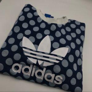 Funky Polka Dot adidas sweatshirt